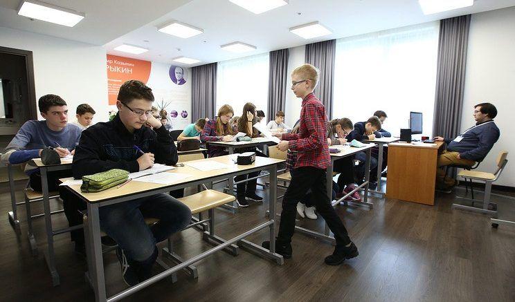 """Урок математики в учебном классе образовательного центра """"Сириус"""" © Александр Рюмин/ТАСС"""
