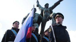 Празднование третьей годовщины воссоединения Крыма с Россией в Севастополе © Александр Карпушкин/ТАСС