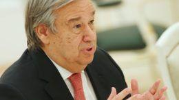 Генеральный секретарь ООН Антониу Гутерриш© Артем Коротаев/ТАСС