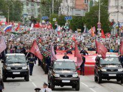 Бессмертный полк в Рязани © Александр Рюмин/ТАСС