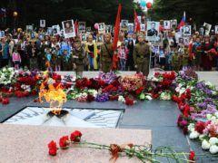 Бессмертный полк в Симферополе © Алексей Павлишак/ТАСС
