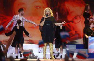 Лариса Долина во время концерта на Красной площади © Сергей Фадеичев/ТАСС