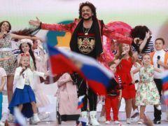 Филипп Киркоров во время выступления на Красной площади © Сергей Фадеичев/ТАСС