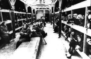 © Б.Фишман/ТАСС Концентрационный лагерь Освенцим, 1943 год