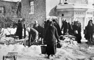 © ТАСС Загородный проспект в Ленинграде, 1941 год