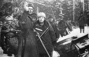 © ТАСС Отряд псковских партизан, 1942 год
