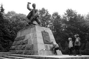 © Владимир Шуба/ТАСС Памятник Марату Казею в Минске