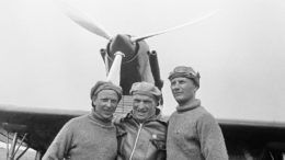 Георгий Байдуков, Валерий Чкалов и Александр Беляков © Виктор Темин/ТАСС
