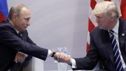 Владимир Путин и Дональд Трамп © Михаил Климентьев/ТАСС