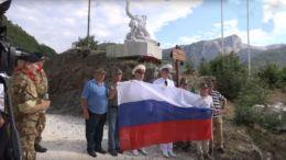 В Италии открыли памятник геройски погибшему в Сирии Александру Прохоренко