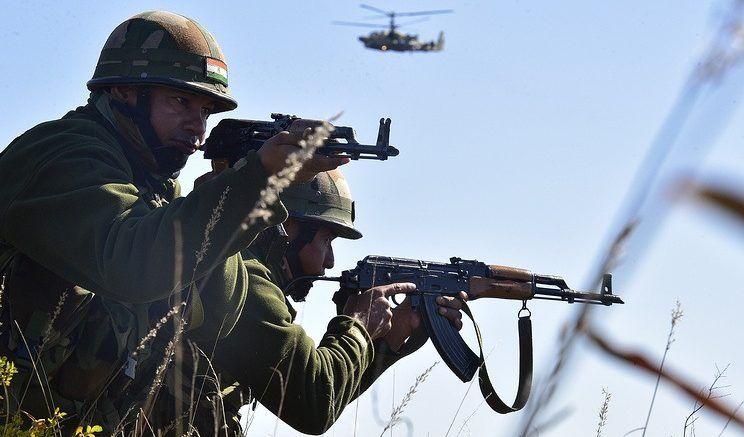 Военнослужащие вооруженных сил Индии © Юрий Смитюк/ТАСС