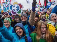 День народного единства в Омске © Дмитрий Феоктистов/ТАСС
