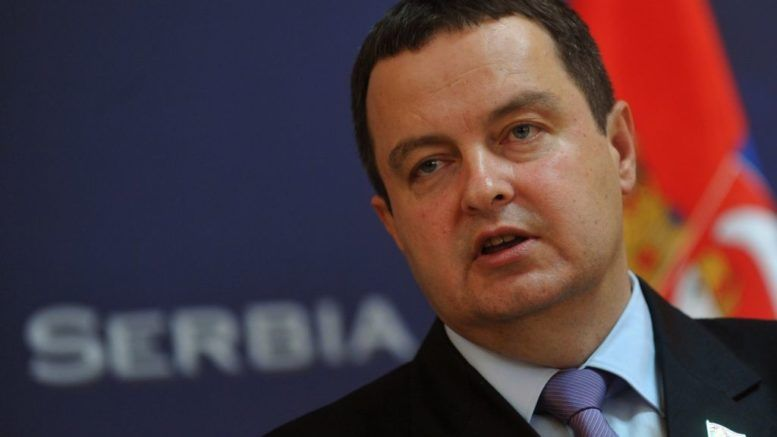 Первый вице-премьер, глава МИД Сербии Ивица Дачич