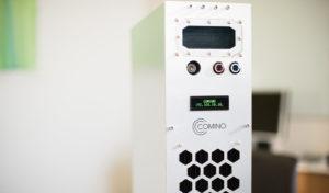 Устройство от компании Comino умеет майнить криптовалюту примерно на $10 в день и одновременно обогревать дом. Стоимость аппарата составляет $4999.