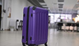 Умный чемодан от коворкинга «Garaж». Пока он умеет показывать вес содержимого, но позже сможет выдавать свое местоположение владельцу на смартфоне и не давать себя украсть.