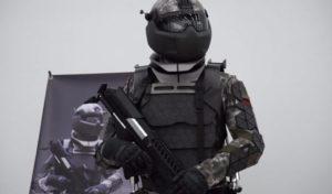 Вот такой он, российский боевой экзоскелет из титана. Управляется интеллектуальной системой и позволяет бойцу переносить тяжелое вооружение на большие расстояния и преодолевать препятствия. Создан в АО «ЦНИИТОЧМАШ» Госкорпорации Ростех.
