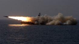 Корабли Балтийского флота провели электронные ракетные пуски в Средиземном море