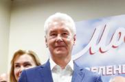 Собянин на выборах мэра Москвы набрал 70,17% голосов после обработки 100% протоколов
