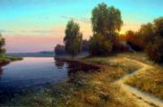Родные уголки русской природы, художник Вячеслав Хабиров