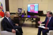Интервью телеканалу «Россия»