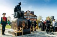 Во Владимирской области открыли памятник Александру Суворову.
