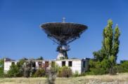 Так выглядит сейчас огромный космический телескоп в Крыму, который Украина превратила в груду металла, но спасла его Россия