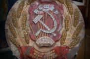 Советский шедевр ювелирного искусства – карта СССР из настоящих самоцветов