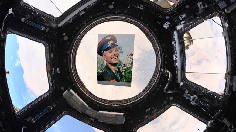 Фото Юрия Гагарина на МКС Автор: ©Российское космическое агентство