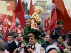 Мир Труд Май демонстрация СССР