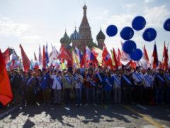 Парад 1 мая в Москве
