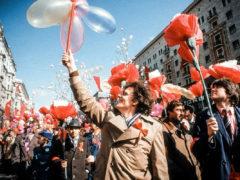Первомай праздник весны и труда СССР