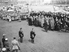 Первомайская демонстрация 1918