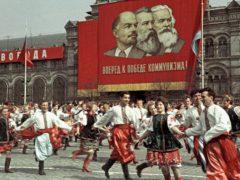 Первомайская демонстрация в СССР