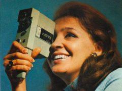 Одна из первых любительских кинокамер — «Аврора», 1980 год. (Фото: Public Domain)