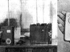 Первый советский мобильный телефон был представлен в 1957 году!!! Многие ставят существование подобного устройства под сомнение. Об изобретении написали во многих советских СМИ. Слева — первый мобильный образец ЛК-1, справа — компактная версия ЛК-3.