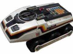 «Планетоход Электроника» — программируемая игрушка, ей можно задать маршрут из 16 различных комбинаций, 1980 год. (Фото: rw6ase.narod.ru)