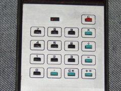 «Электроника Б3-10» — портативный электронный калькулятор, работающий от аккумулятора, 1974 год. (Фото: Сергей Фролов / leningrad.su)