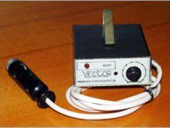 «Вектор-антирадар» предупреждал о милицейском радаре почти за километр, однако, в массовое производство он не поступил по неизвестным причинам, 1990 год. (Фото: rw6ase.narod.ru)