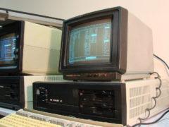 «Квант 4С» — персональный компьютер, встроенной памяти было всего 1 МБ! (Фото: Сергей Фролов / leningrad.su)