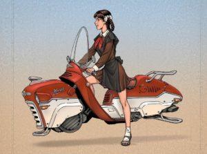 Летающий мотоцикл «Киев»