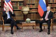 Первая встреча Путина иБайден
