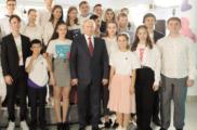 Владимир Путин провел открытый урок для школьников Всероссийского детского центра «Океан»